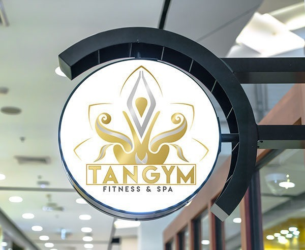 Logo for a Fitness & Spa Center
