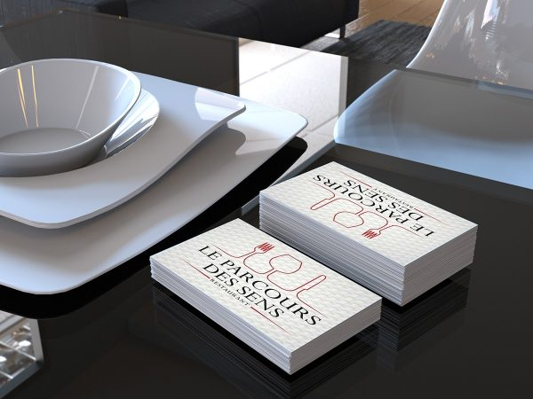 Logo and bLogo and business cards for a restaurantusiness cards for a restaurant