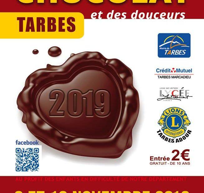 SALON DU CHOCOLAT ET DES DOUCEURS à Tarbes en novembre 2019
