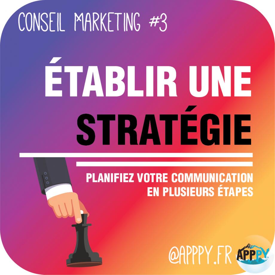 Conseil #marketing #3 : Établir une stratégie à Pau