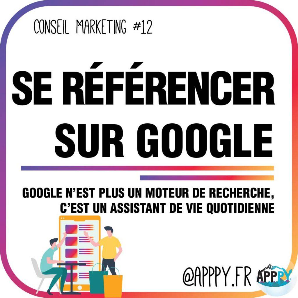 Conseil marketing #12 : Se référencer sur Google