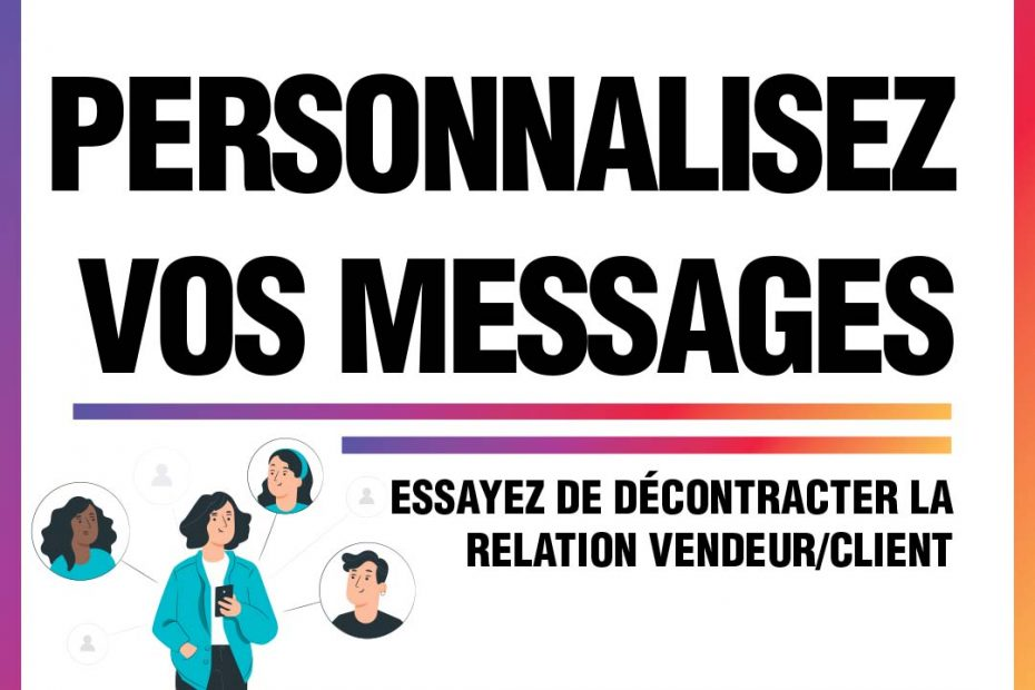 Conseil marketing #15 : Personnalisez vos messages