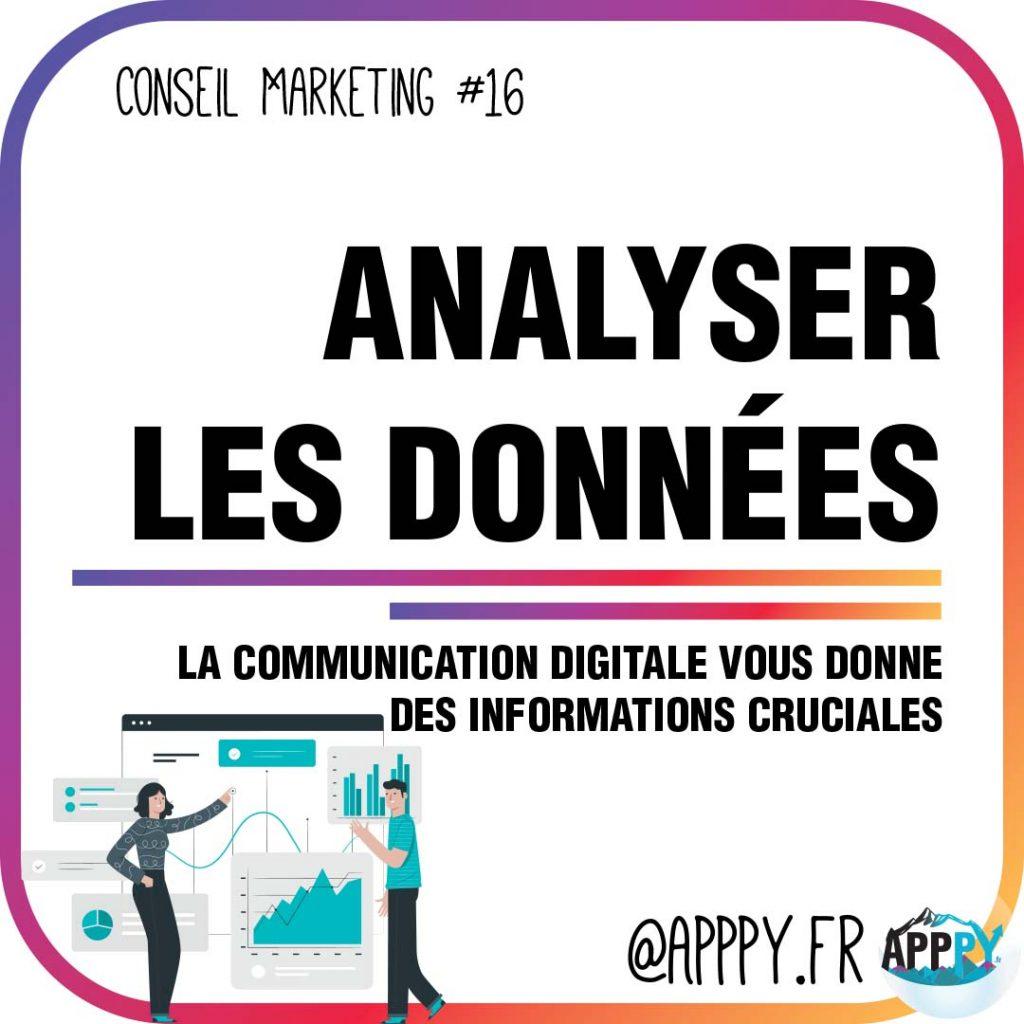 Conseil marketing #16 : Analyser les données