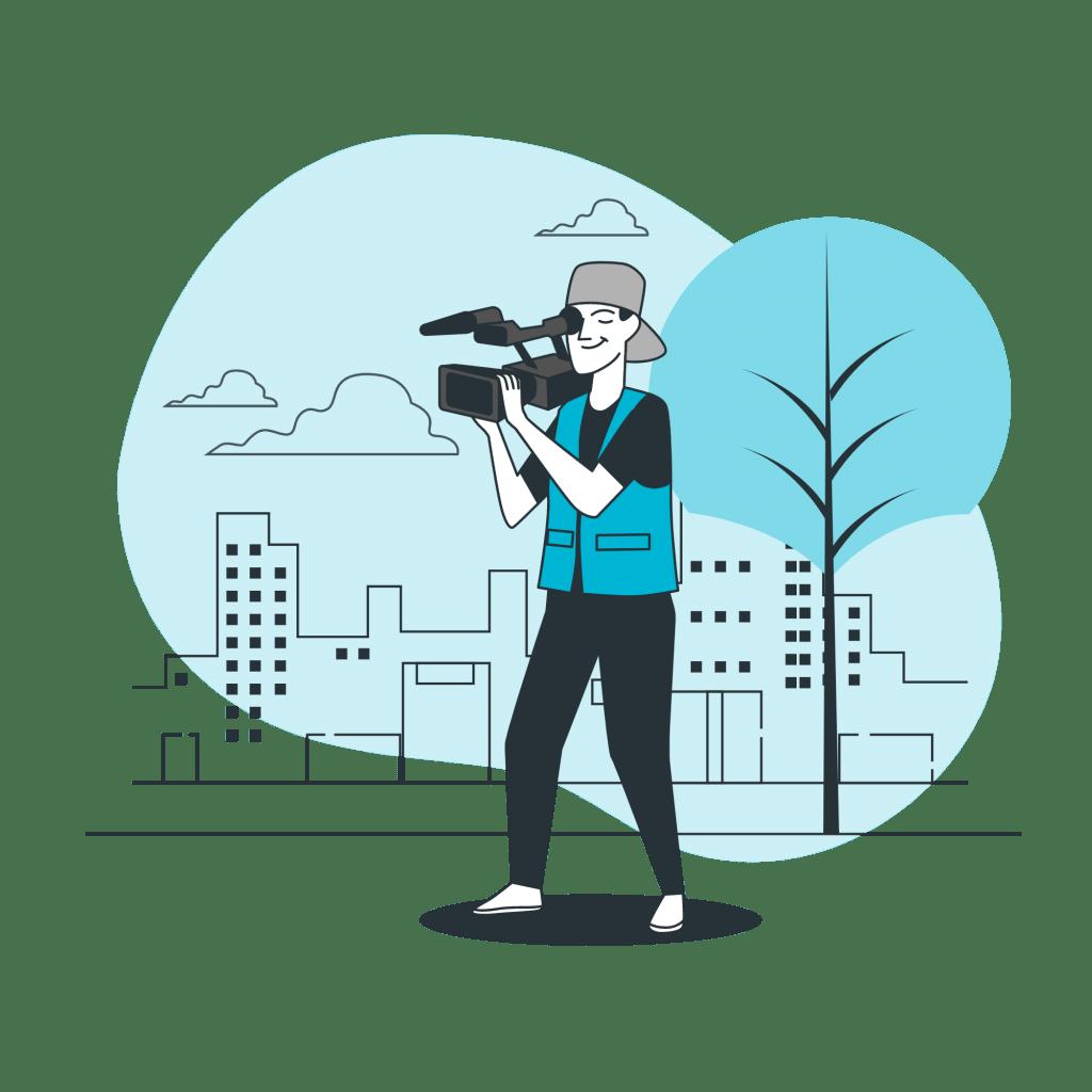 shooting vidéo professionnel à Pau